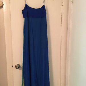 Vintage Ellen Tracy Silk Evening Gown